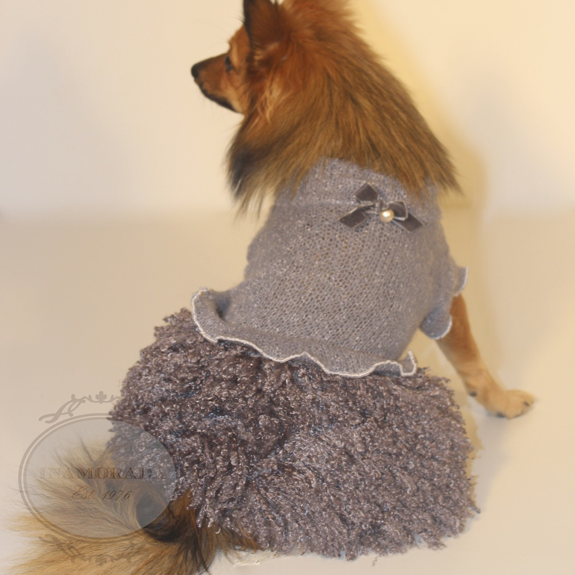 Inamorada Celebrating Milan Fashion Week With Luxury Dog Clothes From Italy Bark And Swagger